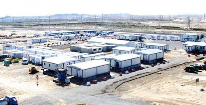 إرسال 100 وحدة دورات مياه متنقلة لمدينة الباب السورية
