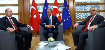 الاتحاد الأوروبي يصف لقاء بعض مسؤوليه بأردوغان بالجيد والإيجابي