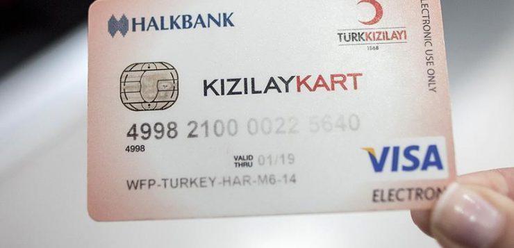 مليون سوري يستفيدون من بطاقات الهلال الأحمر في تركيا